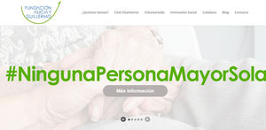 #NingunaPersonaMayorSola de la Fundación Alicia y Guillermo que incentiva el voluntariado vecinal desde el ámbito corporativo