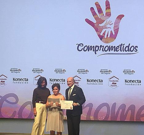 """Fundación Aon premia al proyecto """"Juntos por la Danza"""" de la Asociación Sindrama en los XIX Premios Solidarios del Seguro"""