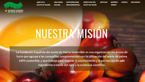La Fundación Española del Aceite de Palma Sostenible analiza el uso de este ingrediente dentro de una dieta equilibrada