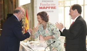 Fundación MAPFRE premia el compromiso solidario de Vicente del Bosque y a cuatro entidades internacionales que trabajan por la sociedad