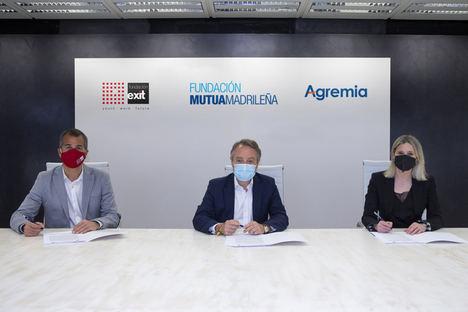 Fundación Mutua Madrileña, Fundación Exit y Agremia formarán a jóvenes vulnerables como técnicos de instalaciones de energía