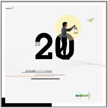 La Fundación ECOLUM transformó en 2020 más de 6 millones de kgs. de residuos de aparatos eléctricos y electrónicos en nuevos materiales para iluminación