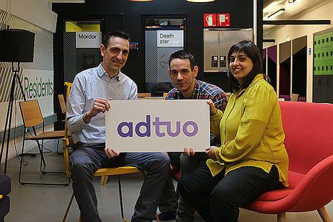 La startup Adtuo, una de las ganadoras del programa de Innovación Abierta de Banco Santander para buscar soluciones digitales dirigidas a las pymes