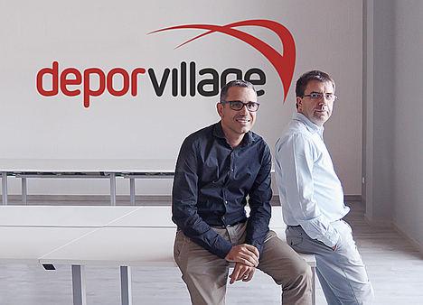 Fundadores de Deporvillage.