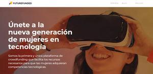 Nace FutureFunded, la primera plataforma de financiación colectiva para impactar en la formación de mujeres en tecnología