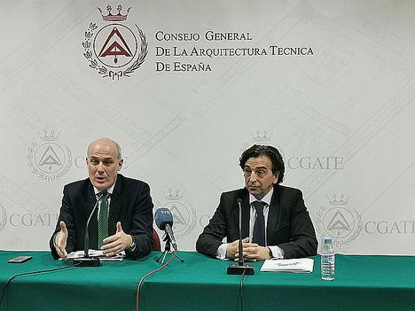 Narciso Michavila, presidente de GAD3, y Alfredo Sanz, presidente del CGATE.