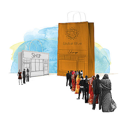 Los turistas del Golfo Pérsico sólo suponen el 3% de las ventas a extracomunitarios en Madrid