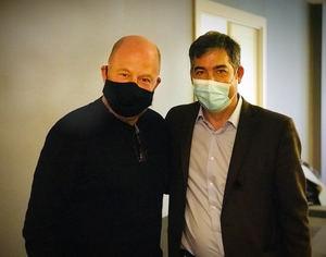 Pepe Chamorro, Co-Fundador y CEO de HABITANT y Martín Umaran (dcha), Co-Fundador y Presidente EMEA de GLOBANT.
