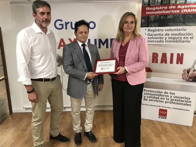 La comunidad de madrid crea un sello para acreditar a los profesionales inscritos en el registro - Agente inmobiliario madrid ...