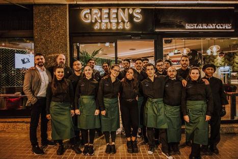 GREEN´S ARIBAU, del grupo EL RELOJ, arrasa como restaurante y local de ocio en la ciudad condal