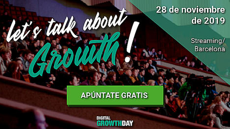 Llega a Barcelona Let's talk about Growth