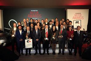 El Range Rover Velar y la BMW R 1200 GS Ride premiados como Mejor Coche y Mejor Moto del año en los Schibsted Motor Awards