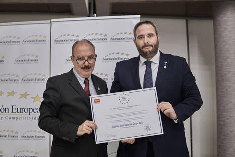 GRUPO VALÍA recibe la Medalla Europea al Mérito en el Trabajo 2017