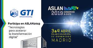GTI expondrá en ASLAN2019 su amplia oferta multicloud