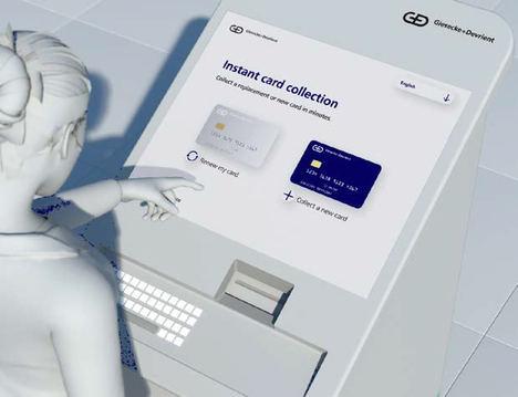 El banco libio Aman Bank reduce a minutos la emisión segura de tarjetas personalizadas mediante kioscos de G+D