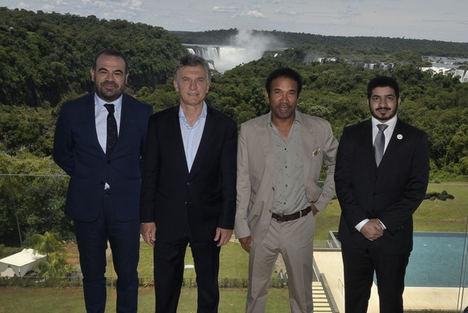 Gabriel Escarrer y el Presidente Mauricio Macri inauguran el Gran Meliá Iguazú, la nueva apuesta de lujo de Meliá en Argentina