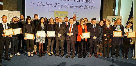 Gala de entrega de la XIII Edición de los Premios AEEPP