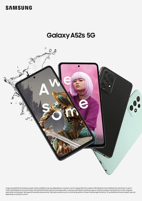 Samsung anuncia Galaxy A52s 5G, con rendimiento superior a un precio asequible