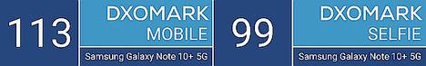 Las cámaras del Samsung Galaxy Note10+ 5G obtienen la primera posición en el ranking DxOMark