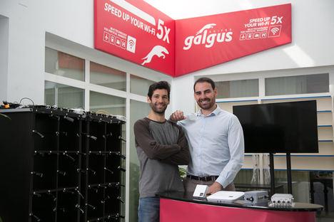 De izqda. a dcha.:  Jose Antonio Delgado, cofundador y CTO y José González, CEO y cofundador de Galgus.