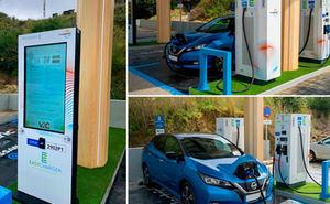Galp y Easycharger abren el primer punto de recarga eléctrica ultrarrápido alimentado por paneles solares