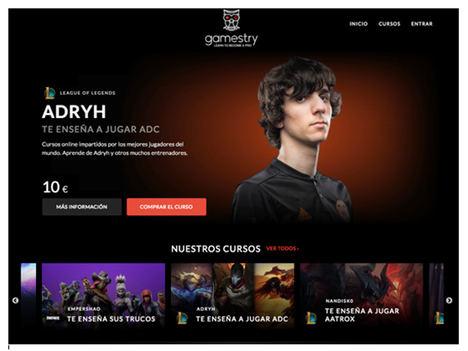 Nace Gamestry, la primera plataforma para aprender de las mejores mentes de los eSports