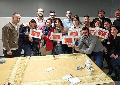 Delaviuda CG celebra el Día Internacional de la Diversión en el Trabajo con `Party Delaviuda´