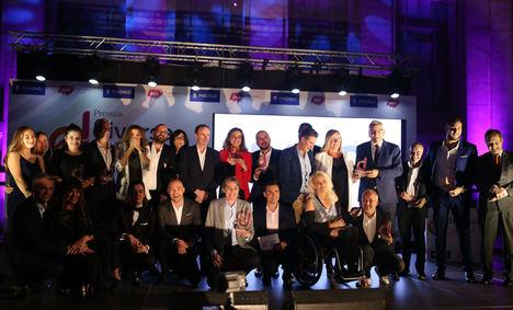 Ganadores de los Premios Diversa 2018.