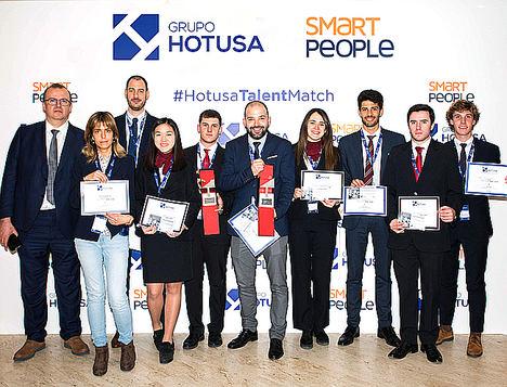 Ganadores premio y mención especial Talent Match 2019.