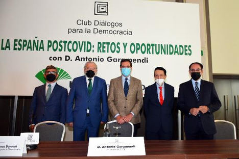 """Antonio Garamendi, presidente de CEOE, sobre el teletrabajo: """"Las empresas quieren trabajo presencial, lo digo claramente"""""""