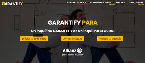 Garantify alcanza un acuerdo exclusivo con Allianz