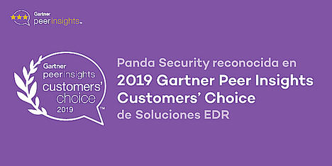Panda Security, premiada en los Gartner Peer Insights Customer's Choice para soluciones EDR