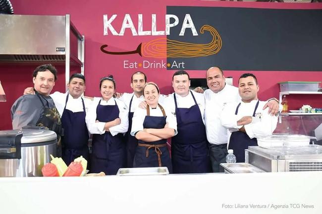 Gastronomia peruana se luce en la feria artesanal m s for Cocina peruana de vanguardia