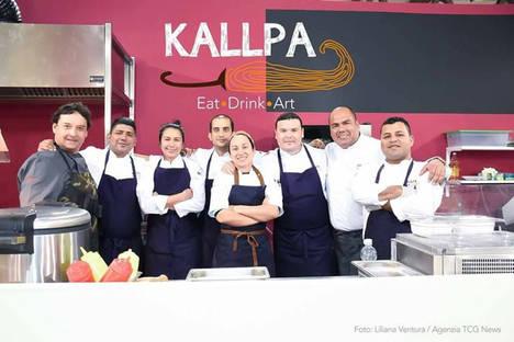 Gastronomia peruana se luce en la feria artesanal más grande del mundo
