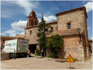 Geosec restaura la Iglesia de La Barbolla en Guadalajara