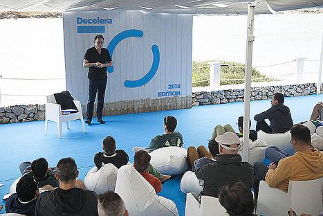 """""""La tecnología no es buena o mala, depende del uso que le demos"""", afirma el futurista Gerd Leonhard en su participación en Decelera Menorca"""