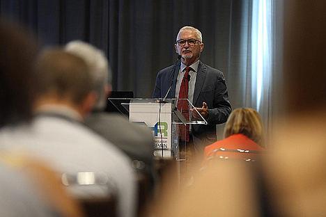 Gerry Stimson, ponente del THR Summit.