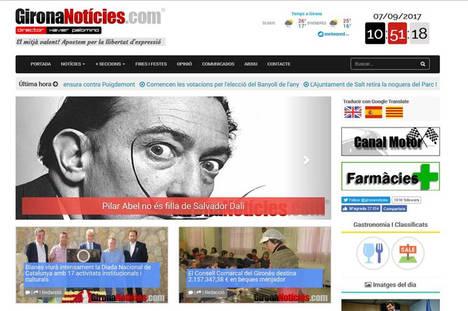 GironaNoticies.com cumple doce años con novedades