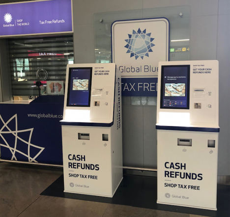 Global Blue lleva al Aeropuerto Madrid-Barajas los primeros 'cajeros automáticos' de devolución de tax free en aeropuertos