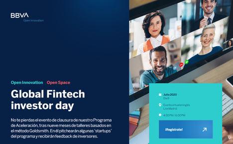 El Global Fintech Investor Day de BBVA conectará a inversores internacionales con prometedoras Startups del sector