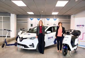 Parkia se alía con GoTo para dar servicio de carsharing en sus aparcamientos de Madrid