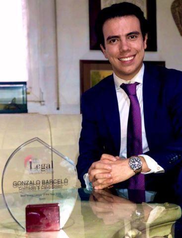 Gonzalo Barceló, abogado de Cremades & Calvo-Sotelo, Mejor Joven Abogado del Año