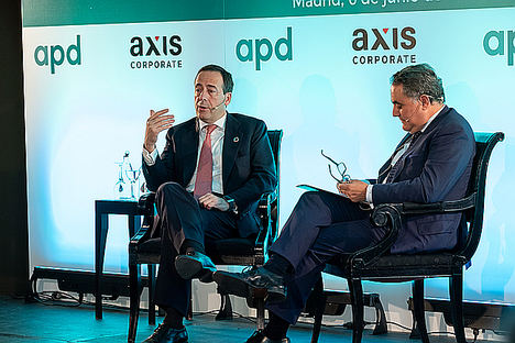 """Gonzalo Gortázar: """"Es importante para la economía española que el sistema financiero supere con éxito sus retos"""""""