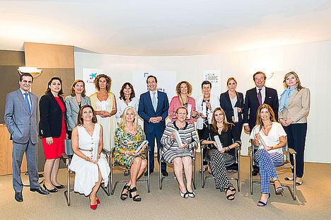 CaixaBank reconoce la trayectoria profesional y el talento de las directivas líderes en España con su Premio Mujer Empresaria 2019