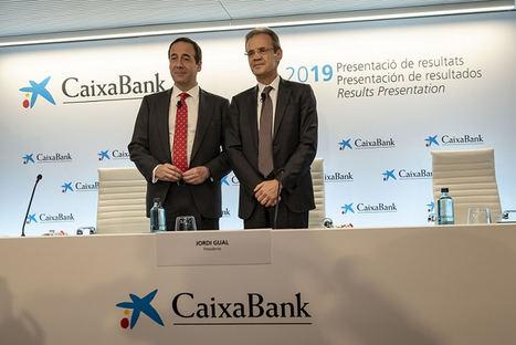 CaixaBank obtiene un beneficio de 1.705 millones, reduce su morosidad hasta el 3,6% y aumenta su ratio de capital (CET1) hasta el 12%