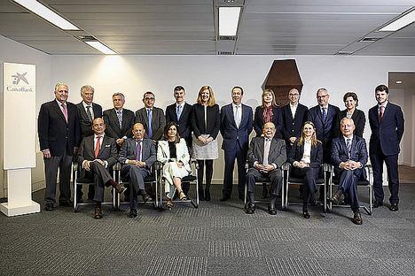 Encuentro del Comité Consultivo de accionistas de CaixaBank con Gonzalo Gortázar.