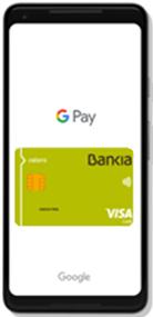 Google Pay ya está disponible para clientes de Bankia