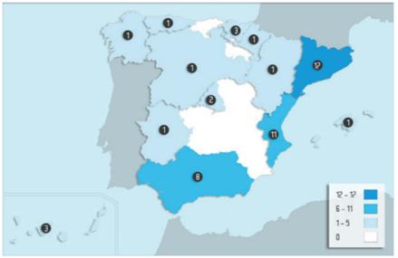 Cataluña lidera el número de licitaciones públicas autonómicas con BIM, pero País Vasco en el valor económico