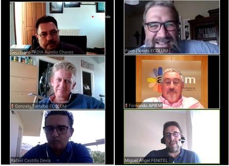 Gran éxito de participación en los encuentros digitales ECOLUM CONECTA que puso en valor las oportunidades de negocio de la Economía Circular
