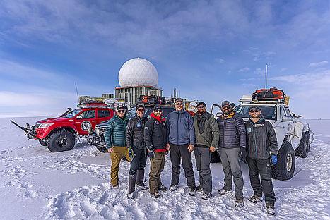 Dominando las condiciones más extremas en Groenlandia